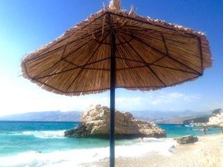 Plaja in Albania