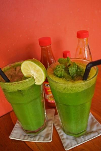 Fresh juice at Taco Casa
