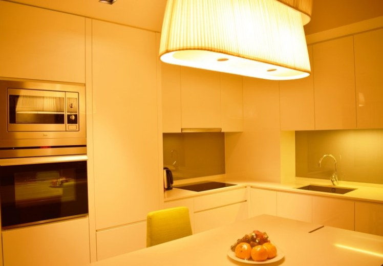 Kitchen at Lanson Place