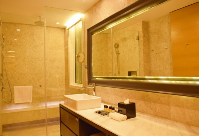 Bathroom at Lanson Place