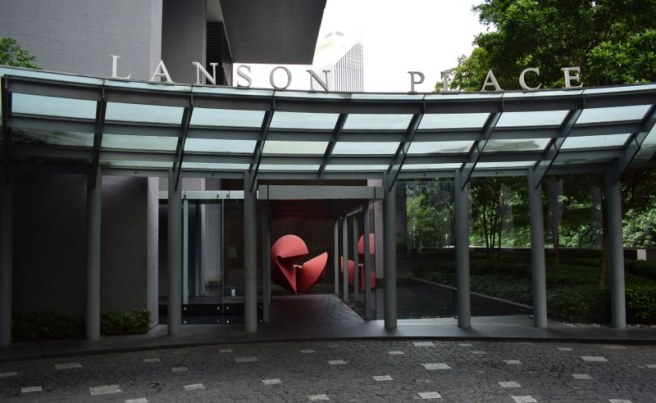 Entrance to Lanson Place