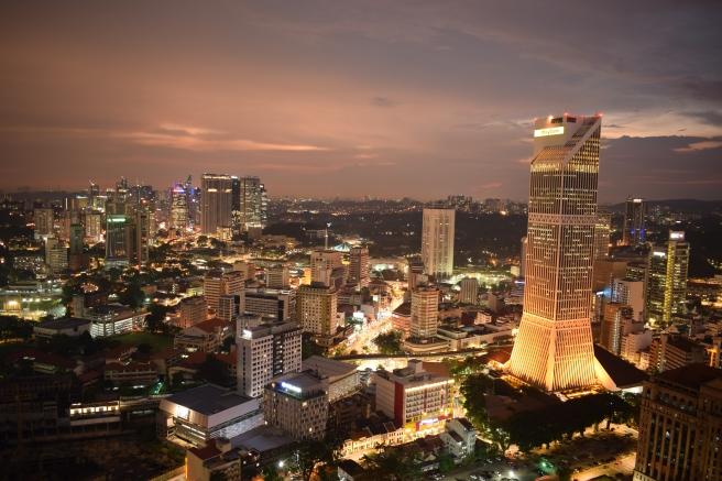 Panoramic view in Kuala Lumpur