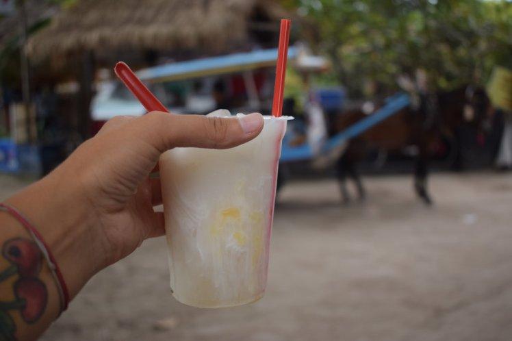 My favourite coconut juice