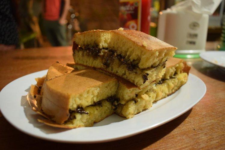 Our every day Terang Bulan cake