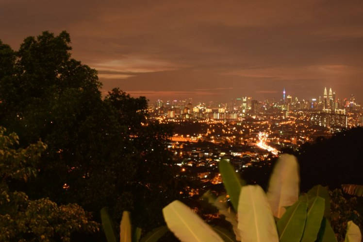Vedere panoramica din Bukit Ampang