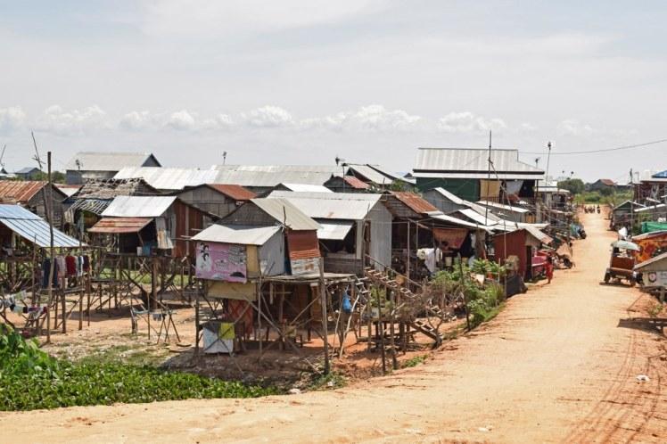 O stradă din Siem Reap