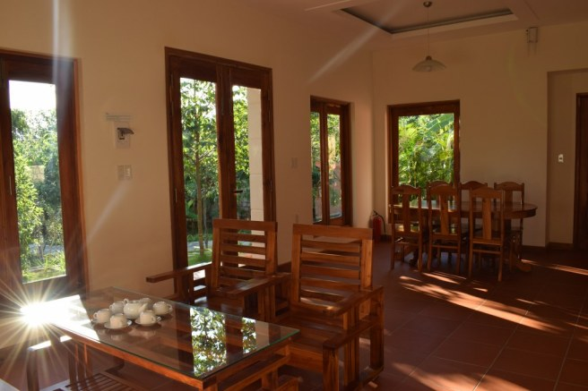 Living room in The Garden Resort