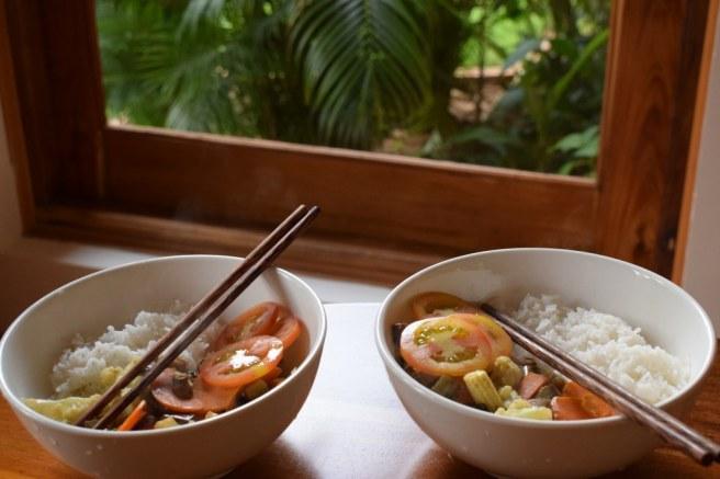 Dinner in The Garden Resort