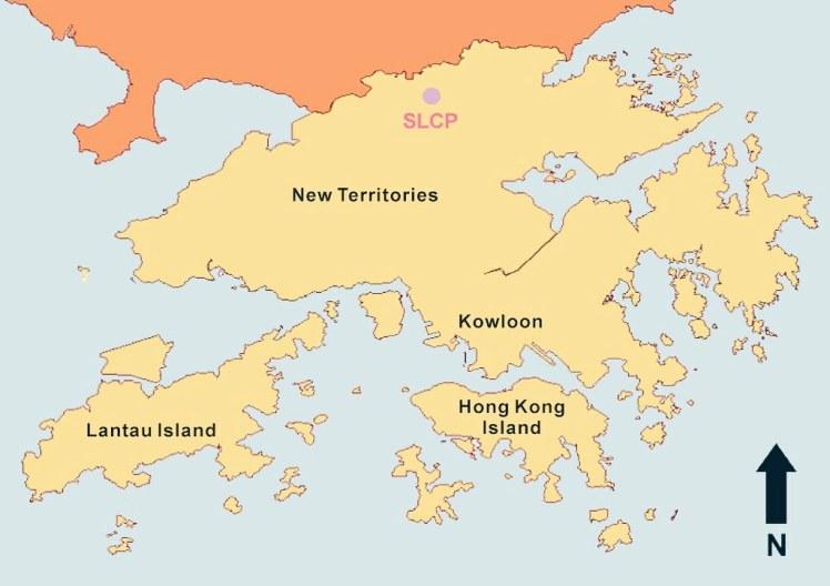 Harta Hong Kong