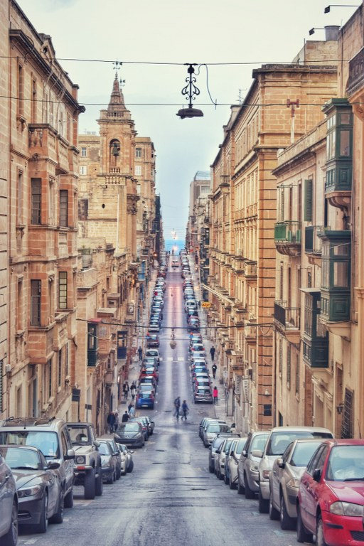 Strada in Valletta