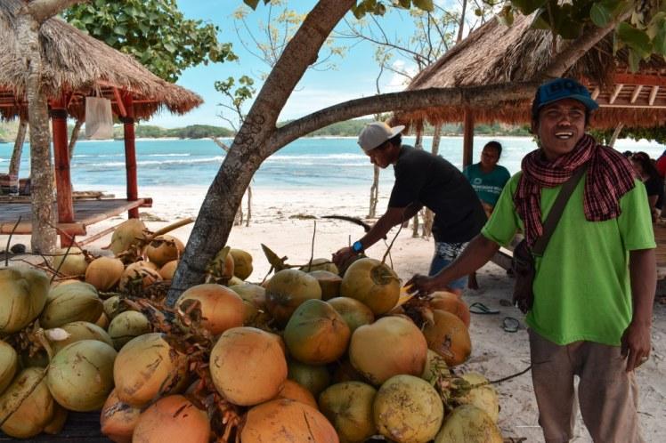 Tanjung Aan Coconut