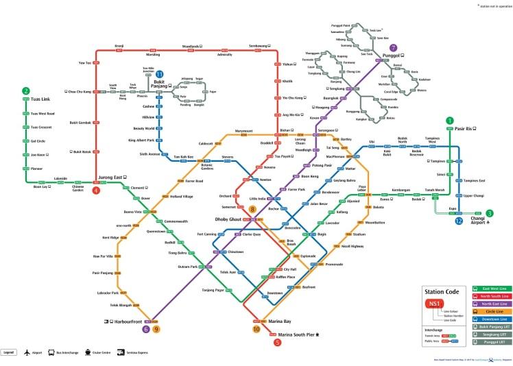 MRT in singapore