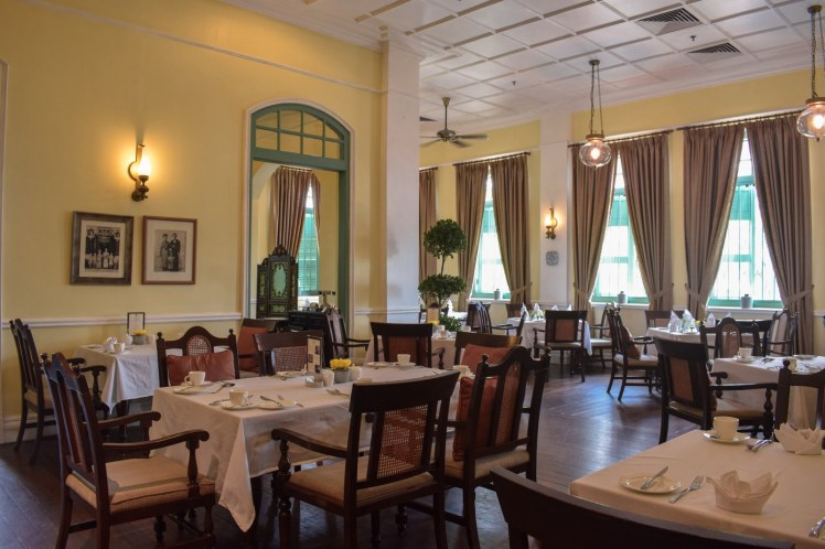 Dinning room at The Majestic