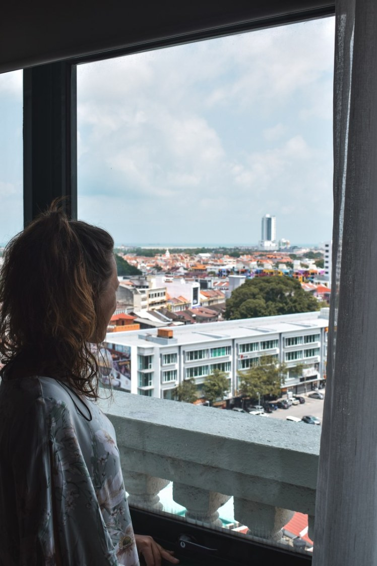 View from The Majestic Malacca