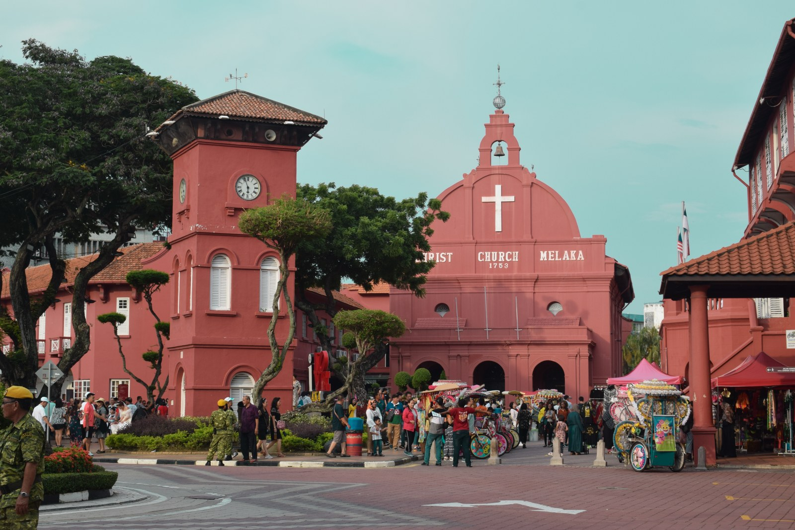 Piata Olandeza in Malacca