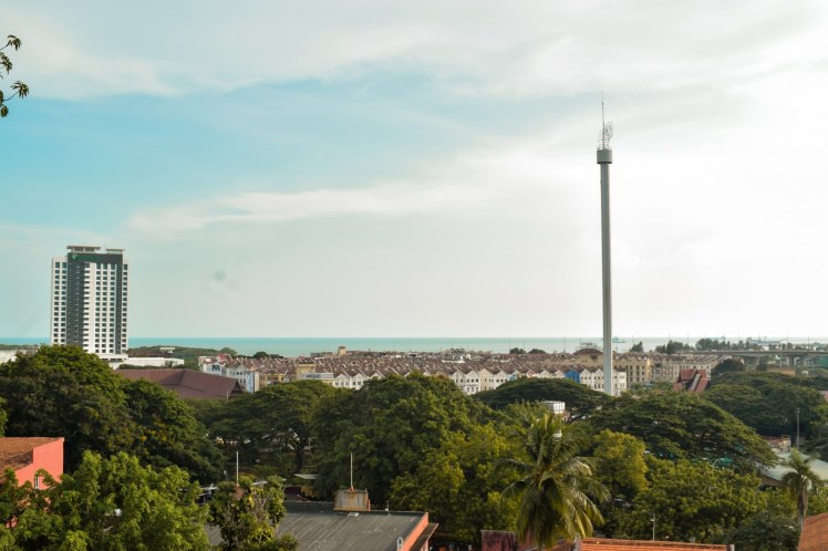 Vedere asupra orasului Malacca